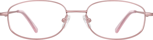 Rose Gold Rectangle Glasses