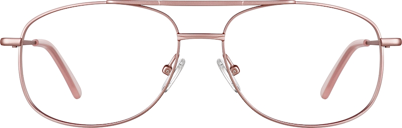 Rose Gold Aviator Glasses #418919