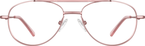 Pink Aviator Glasses