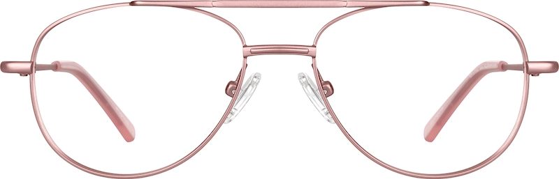 Rose Gold Aviator Glasses #419019