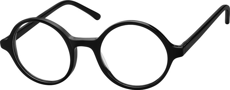 4191a1a2b4 Black Kids  Round Glasses  438021
