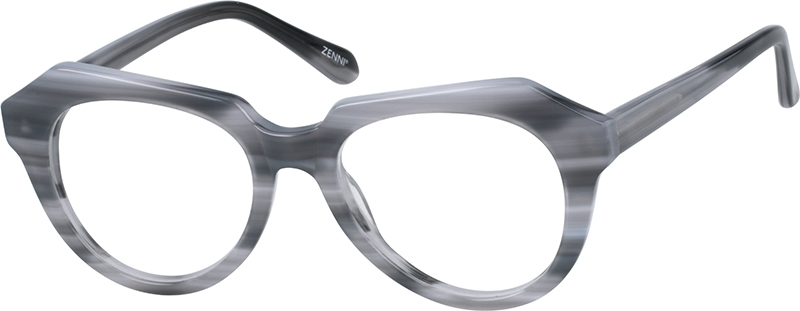 90ae60463e Gray Geometric Glasses  4416112