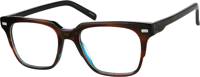 Brown Square Eyeglasses #4416515