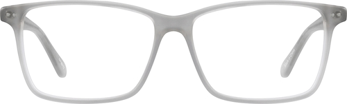 Gray Rectangle Glasses