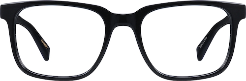 Black Van Alen Square Glasses