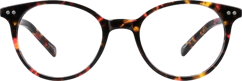 4420725 Thin Acetate Round Eyeglasses