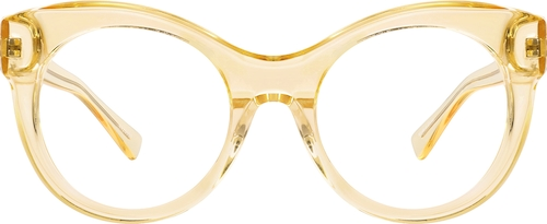 Yellow Venice Cat-Eye Sunglasses