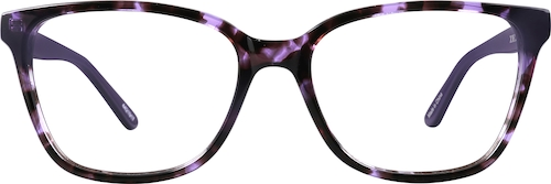 Purple Multi Square Glasses