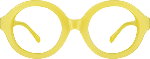 Yellow Pico Round Sunglasses