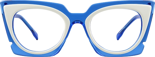 Blue Melrose Cat-Eye Sunglasses