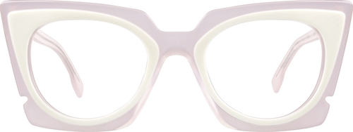 Pink Melrose Cat-Eye Sunglasses