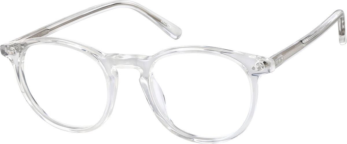 Translucent Round Glasses 4422423