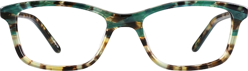 Malachite Rectangle Glasses
