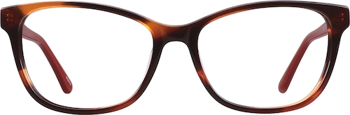 Flame Cat-Eye Glasses