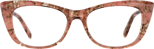 Carnelian Cat-Eye Glasses