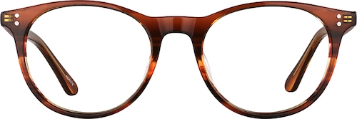 Flame Round Glasses