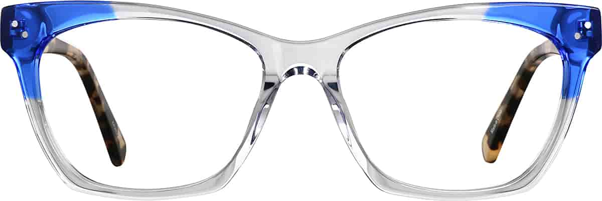 Translucent Cat-Eye Glasses