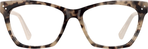 Pattern Cat-Eye Glasses