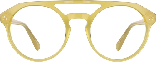 Yellow Round Glasses