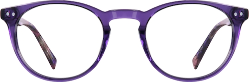 Grape Round Glasses