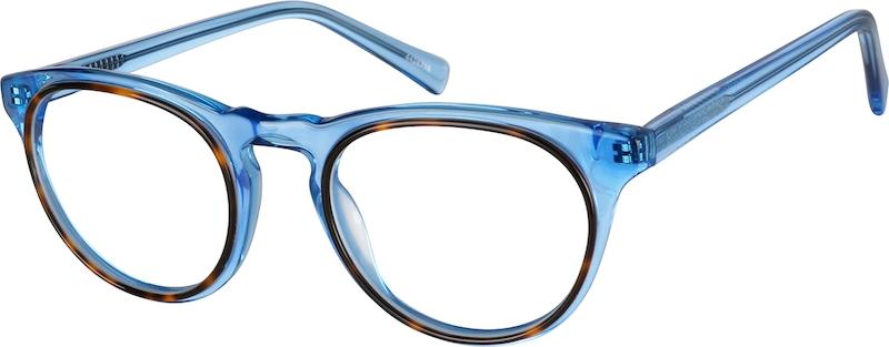 f7db58f51f Blue Round Glasses  4428716