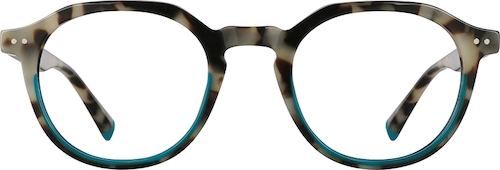 Dark Tortoiseshell Geometric Glasses