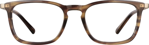 Oak Rectangle Glasses