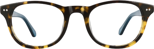 Tortoiseshell Kids' Oval Glasses