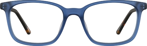 Blue Kids' Square Glasses