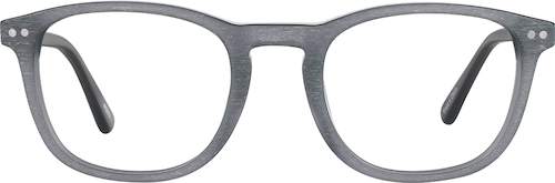 Gray Kids' Square Glasses
