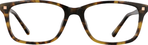 Tortoiseshell Kids' Rectangle Glasses