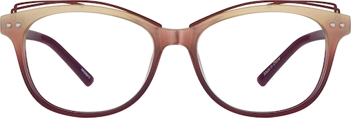 Chestnut Oval Glasses