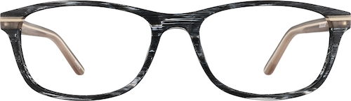 Grey Rectangle Glasses