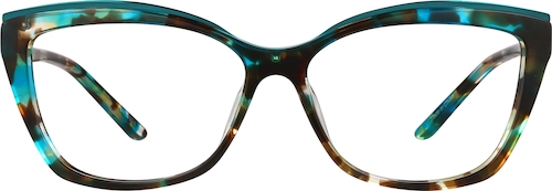 Jade Cat-eye Glasses