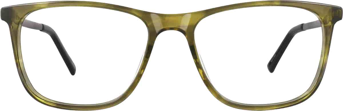 Olive Square Glasses