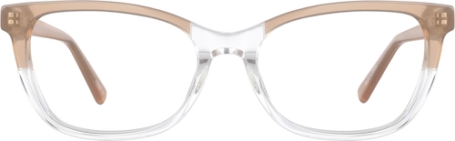 Fawn Rectangle Glasses