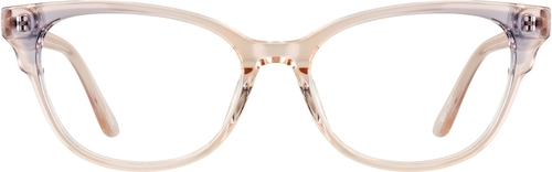 Light Brown Cat-Eye Glasses