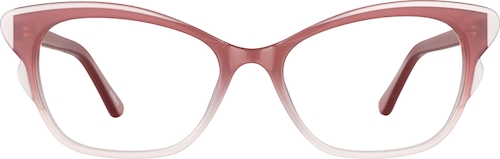 Rose Cat-Eye Glasses