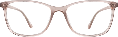 Blush Rectangle Glasses
