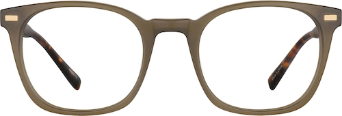 Brown Square Glasses
