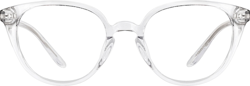 Clear Cat-Eye Glasses