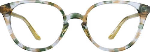 Olive Multi Cat-Eye Glasses