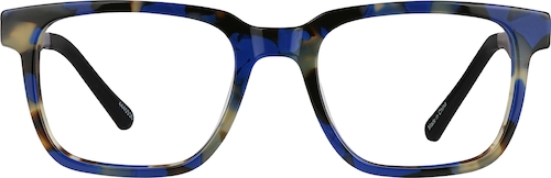 Blue Tortoiseshell Dare Kids' Square Glasses