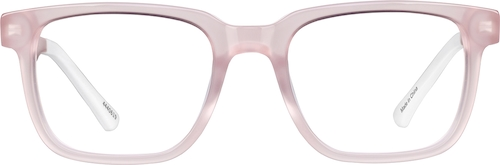 Blush Dare Kids' Square Glasses