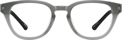 Gray Explore Kids' Round Glasses