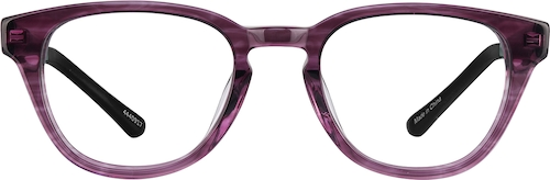 Violet Explore Kids' Round Glasses