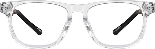 Clear Create Kids' Square Glasses