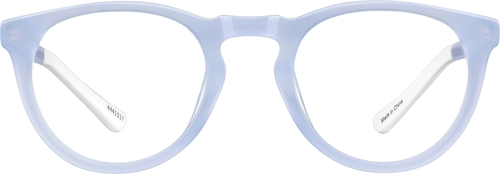 Periwinkle Dream Kids' Round Glasses