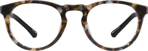 Tortoiseshell Dream Kids' Round Glasses