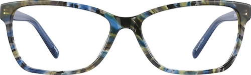 Jungle Rectangle Glasses